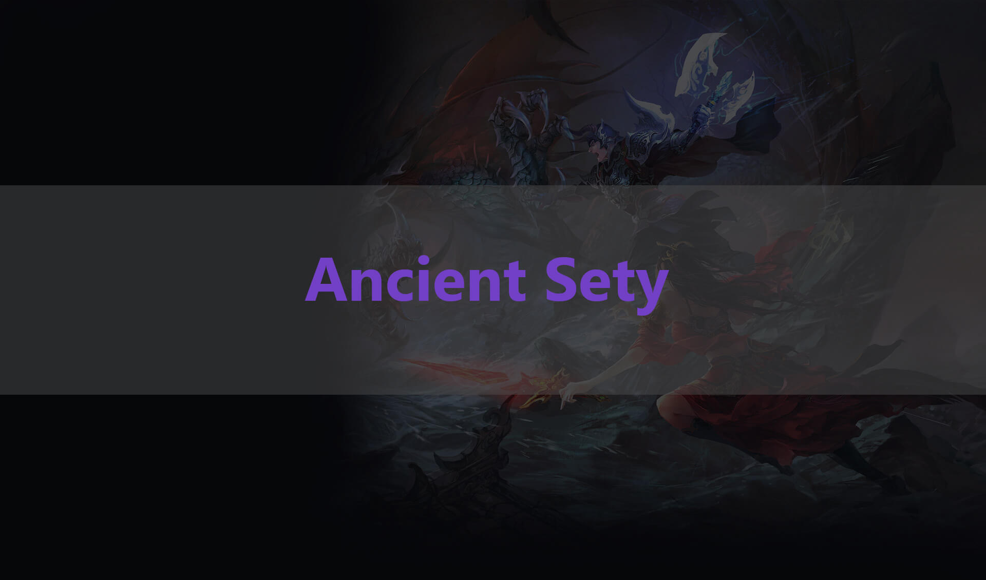 Ancient sety