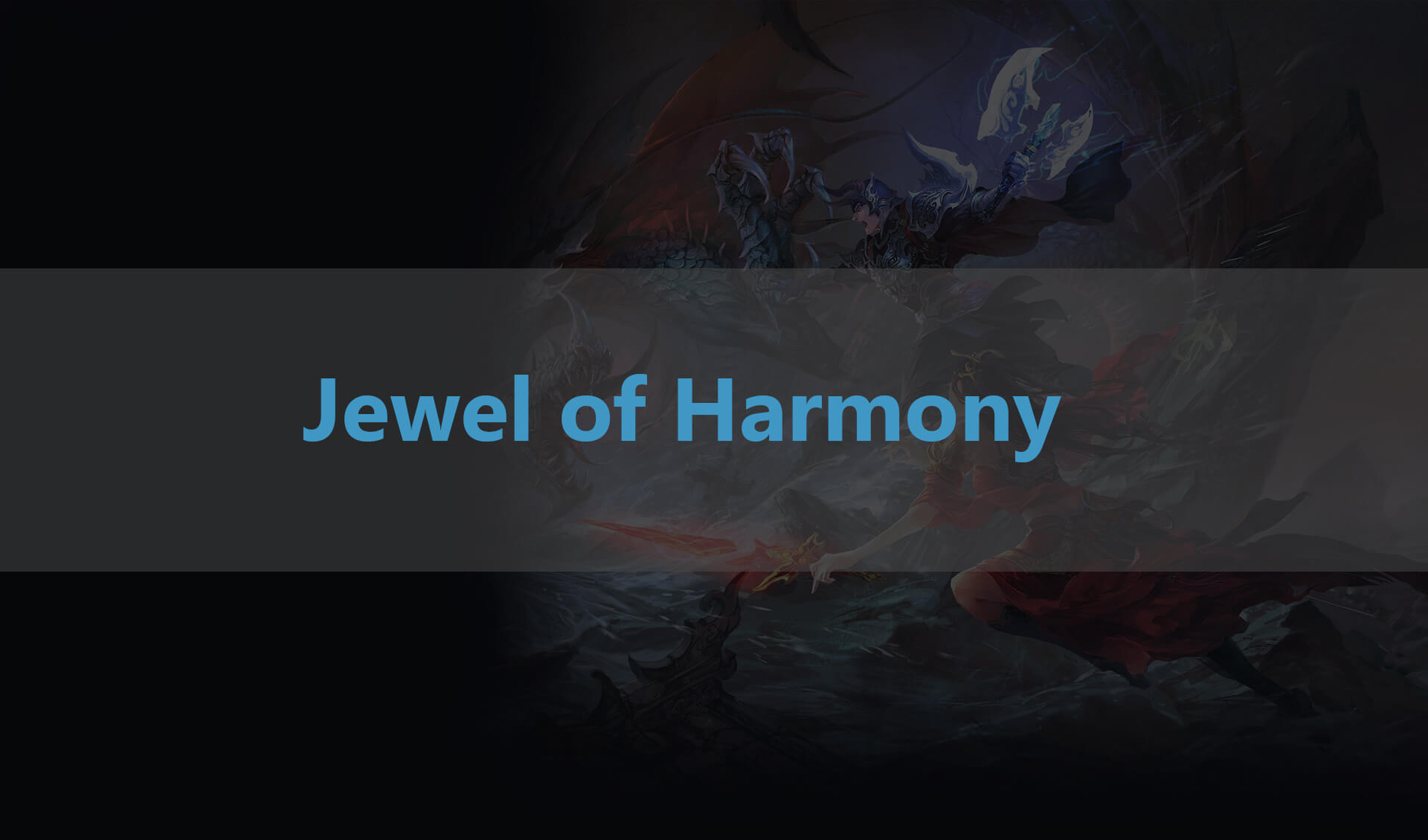 Jewel of Harmony optiony