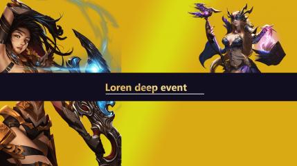 Loren Deep event