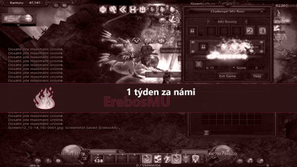 ErebosMU a jeho první týden