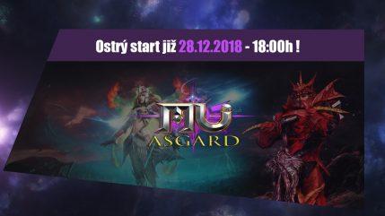 AsgardMU ostrý start
