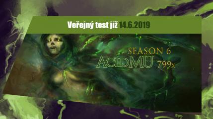 AcidMU přestavení + veřejný test