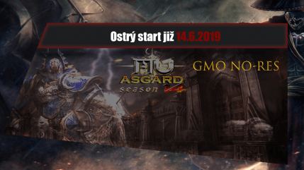 AsgardMU GMO ostrý start