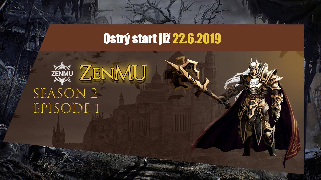 ZenMU ostrý start