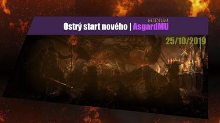AsgardMU medium ostrý start
