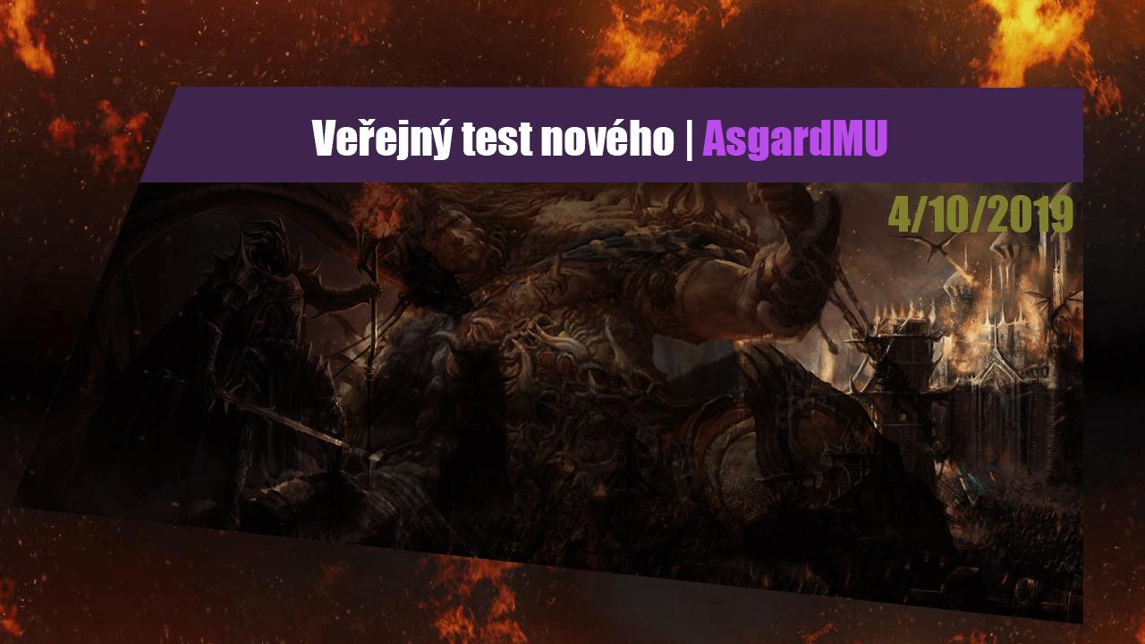 AsgardMU medium veřejný test