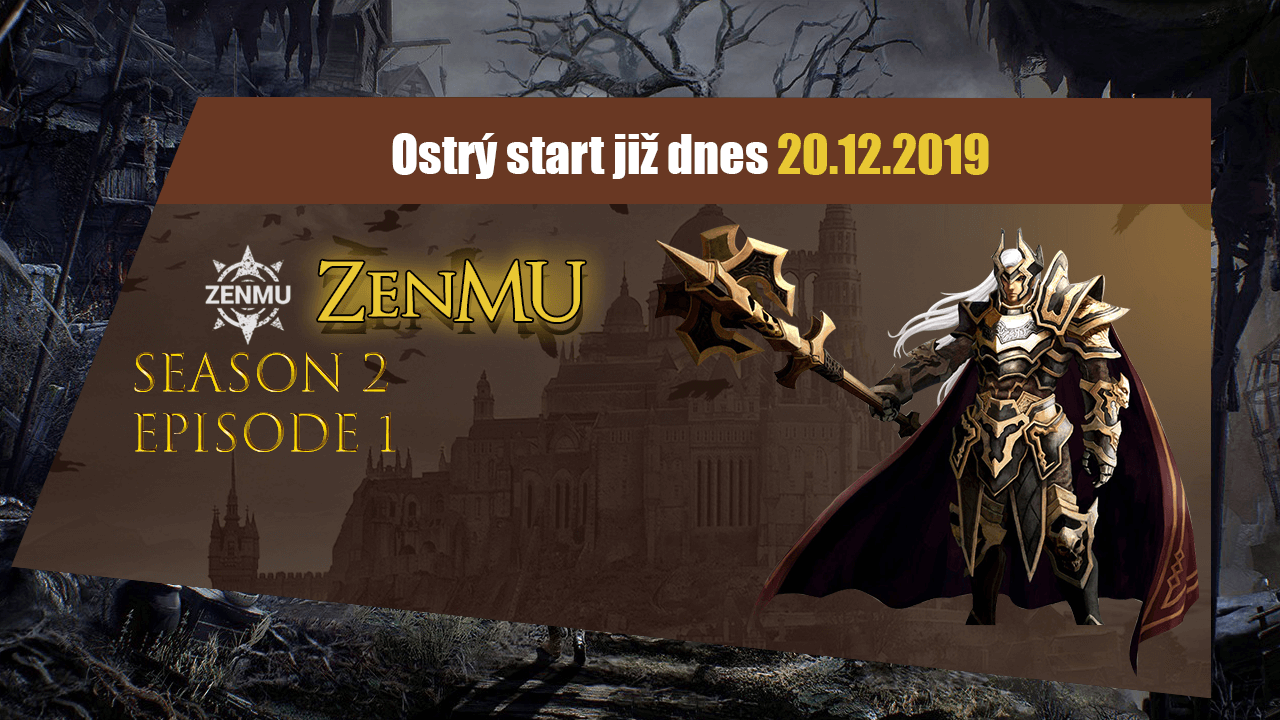 ZenMU ostrý start