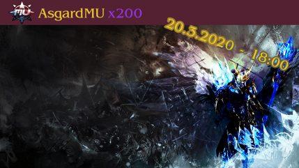 AsgardMU x200 ostrý start
